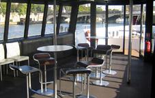 Private boat on the Seine
