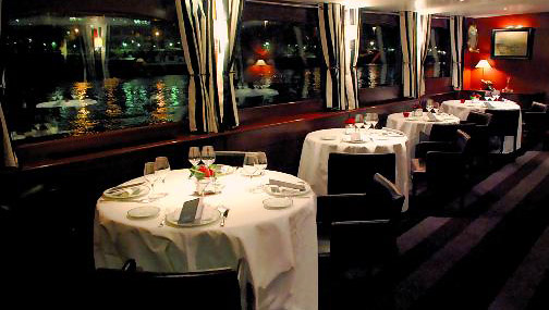 Dinner cruise on the Seine River with France Tourisme